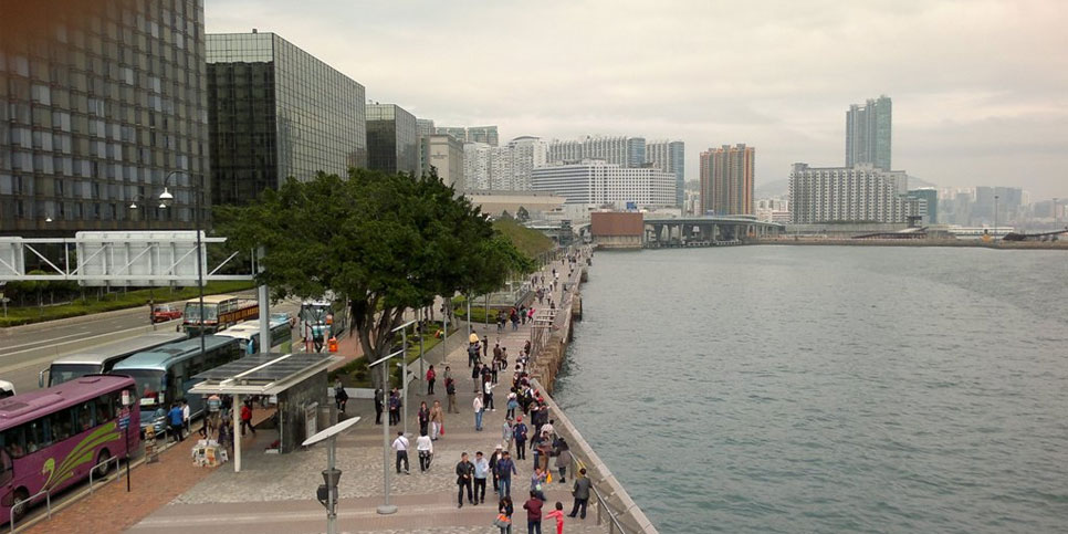 Khu cảng biển Tsim Sha Tsui