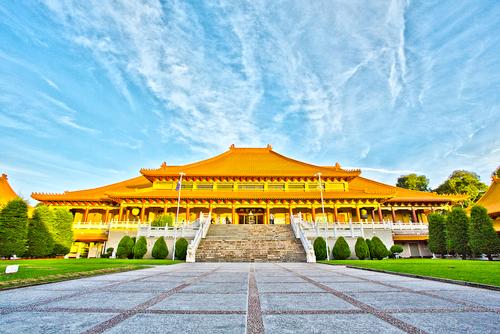 Thăm chùa Nan Tiên úc